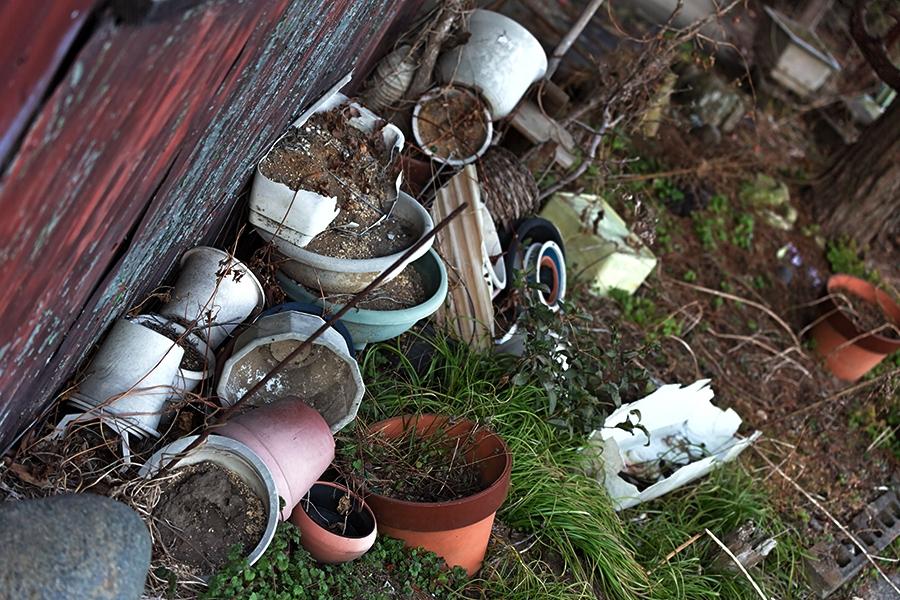 庭の不用品回収は便利屋サッポロ ゆみ屋にお任せ下さい